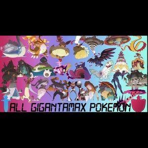 Other - All 27 Gigantamax Pokemon(shiny) 6iv Battle ready!